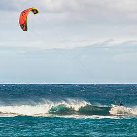 Trever Miller - Kite Surfing at Ho