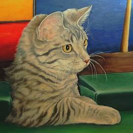 Pamela Humbargar - Kitten in a Side Pocket 3