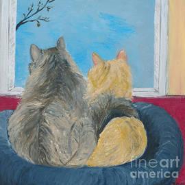Ania M Milo - Kitties in the Window