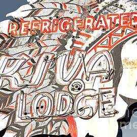John Wayland - Kiva Lodge Motel Vintage Neon Sign in Mesa Arizona