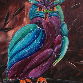 Deda Happel - Koilorful Owl