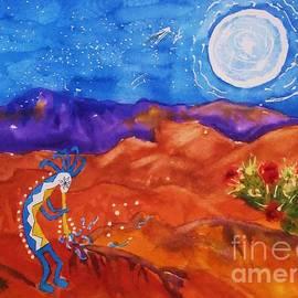 Ellen Levinson - Kokopelli Playing To The Moon