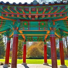 David Oberman - Korean Pavilion at VanDusen Botanical Garden