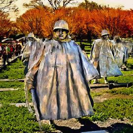 Bob and Nadine Johnston - Korean War Veterans Memorial Sunset
