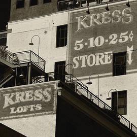 Denise Dube - Kress Store bw By Denis Dube