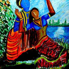 Anand Swaroop Manchiraju - Krishna  Playing With Radha