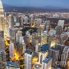 Didier Marti - Kuala Lumpur skyline