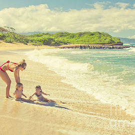 Sharon Mau - Kuau Beach Maui North Shore Hawaii