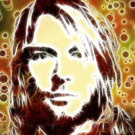 Georgeta Blanaru - Kurt Cobain digital painting