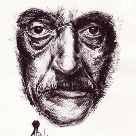 Alexandra-Emily Kokova - Kurt Vonnegut Portrait