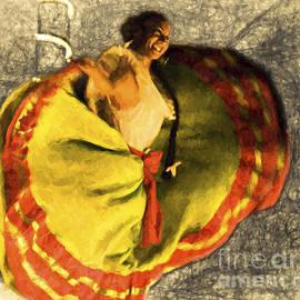 Chuck Caramella - LA BAILADOR No. 4  ...