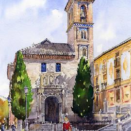 Margaret Merry - La Iglesia de Santa Ana Granada