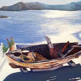Angel de Paz - La isla de la barca