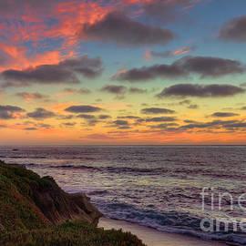 Eddie Yerkish - La Jolla Cliffs At Sunset