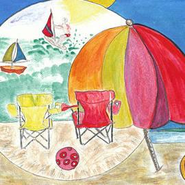 Dominique Fortier - La plage / The Beach