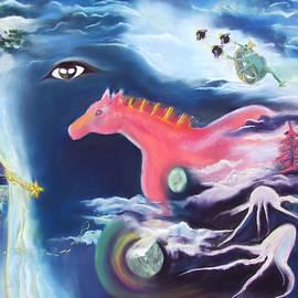 Marie-Claire Dole - La Reverie du Cheval Rose or Dream Quest of the Pink Horse.