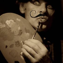 Andrzej Goszcz  - La vie est belle a Paris - Salvador Dali. The Young Rebels . Hippies and Blues Revolution Movement.