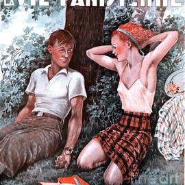 The Advertising Archives - La Vie Parisienne 1935 1930s France