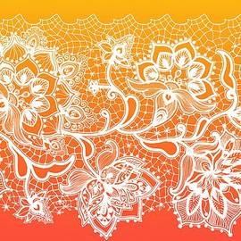 Lilia D - Lace - Orange