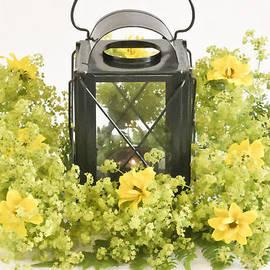 Sandra Foster - Ladies Mantel Flowers Still Life