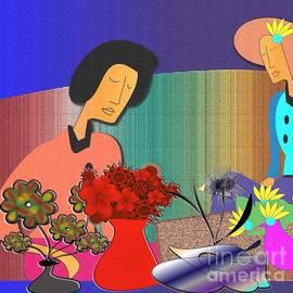 Iris Gelbart - ladies Tea Party
