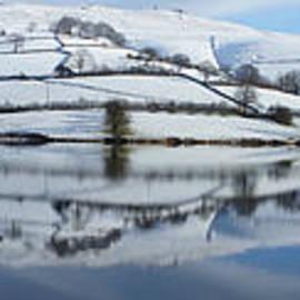 Ladybower Winter Panorama