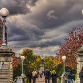 Joann Vitali - Lagoon Bridge in Boston Public Garden