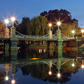 Juergen Roth - Lagoon Bridge in the Boston Public Garden