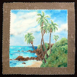 Nancy Goldman - Laguna Beach in Silk