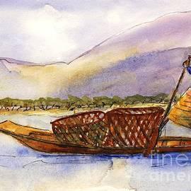 Randy Sprout - Lake Burma Fisherwoman