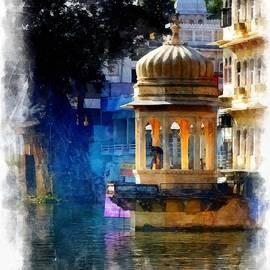 Sue Jacobi - Lake House Gazebo India Rajasthan Udaipur