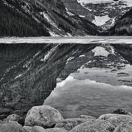 Stuart Litoff - Lake Louise - Black and White