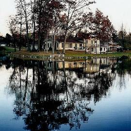 Richard Rosenshein - Lake Metamora Reflection