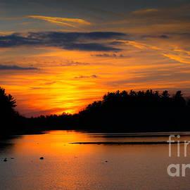 Gary Keesler - Lake Naomi Pocono Sunset