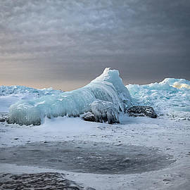 Patti Deters - Lake Superior Ice Wave