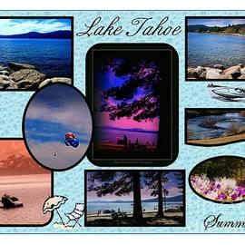 Bobbee Rickard - Lake Tahoe in Summer Poster