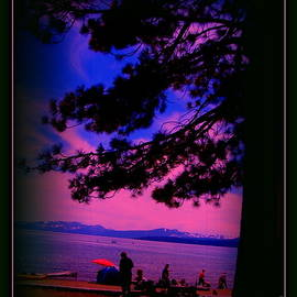 Bobbee Rickard - Lake Tahoe Silhouette