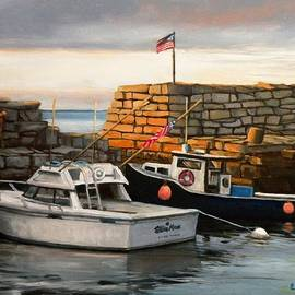 Eileen Patten Oliver - Lanes Cove Fishing Boats