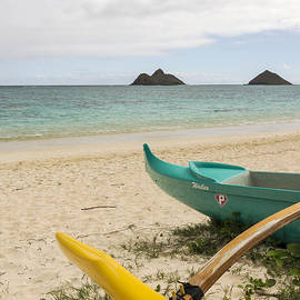 Brian Harig - Lanikai Beach Outrigger 2 - Oahu Hawaii