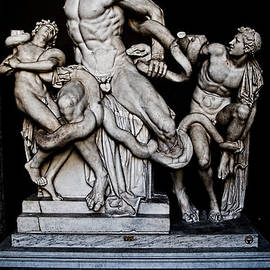 Weston Westmoreland - Laocoon and the snake