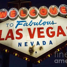 Bob Christopher - Welcome To Fabulous Las Vegas Nevada Sign