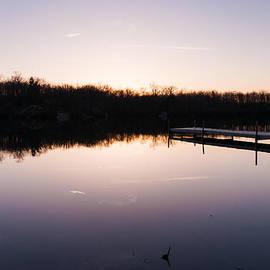 Last Light at Cleveland Pond