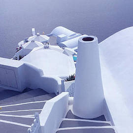 Colette V Hera  Guggenheim  - Late Day View Santorini Island Greece