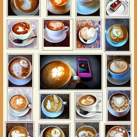 Susan Garren - Latte Art Collage