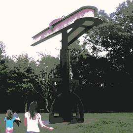 Kelly Awad - Laumeier Park Sculpture 3