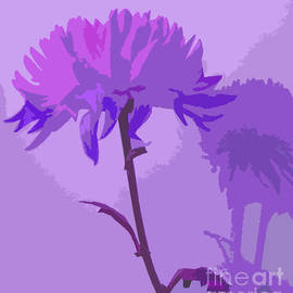 Minding My  Visions by Adri and Ray - Lavender Purple Flower