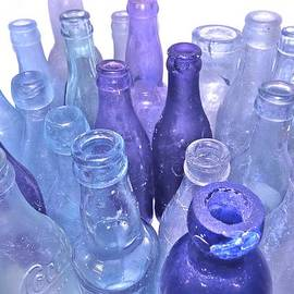 Angela Mahoney - Lavender Bottles