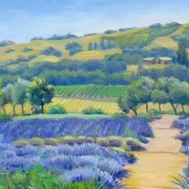 Dominique Amendola - Lavender field