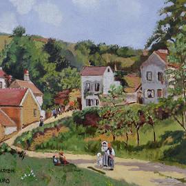 Jeannie Allerton - Le Hermitage After Pissarro