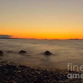 Elmar Langle - LE Sunset over Strait